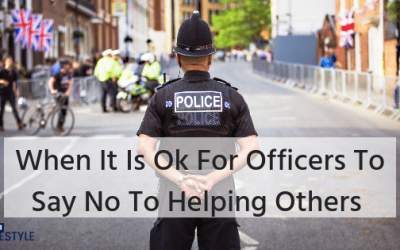 When It Is Ok For Police Officers Not To Help Others