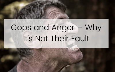 Cops and Anger – Why It's Not Their Fault