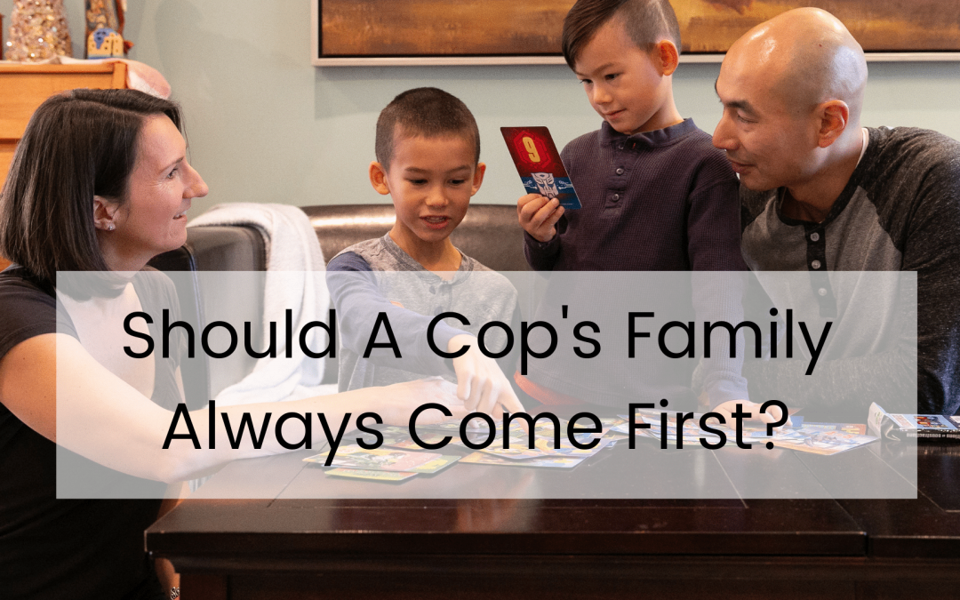 Police Officer, Family, Cops, Kids, game night