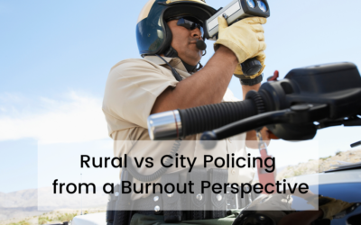 Rural vs City Policing from a Burnout Perspective